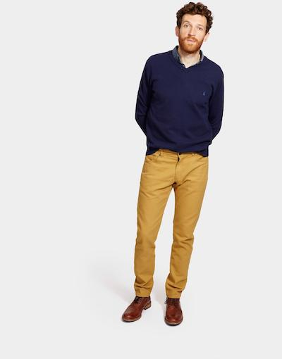 Autumn Winter Menswear Must Have Mustard Trousers Joules