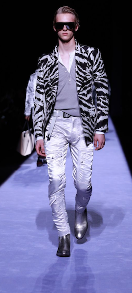 AW18 menswear trends New York 80s Beetlejuice Flintstones Tom Ford