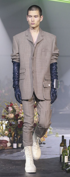 AW18 menswear trends New York 80s Beetlejuice Flintstones Bottega Veneta