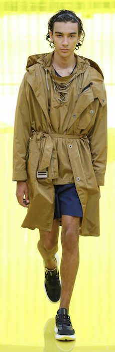 SS19 Trends Short Shorts Menswear Neil Barrett Army