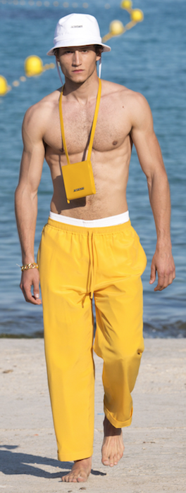 SS19 Trends Short Shorts Menswear Yellow Jacquemus