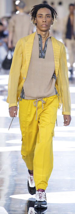 SS19 Trends Short Shorts Menswear Yellow Ermenegildo Zegna