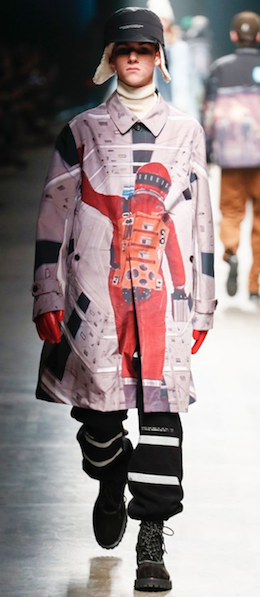 Space Odyssey menswear Undercover Pitti Uomo Florence 50th anniversary