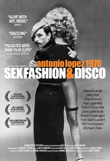 Antonio Lopez Fashion Sex Disco documentary