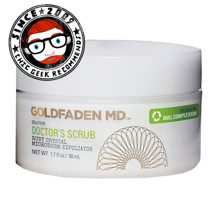 Review Dr Goldfaden MD Doctor's Scrub men's grooming expert