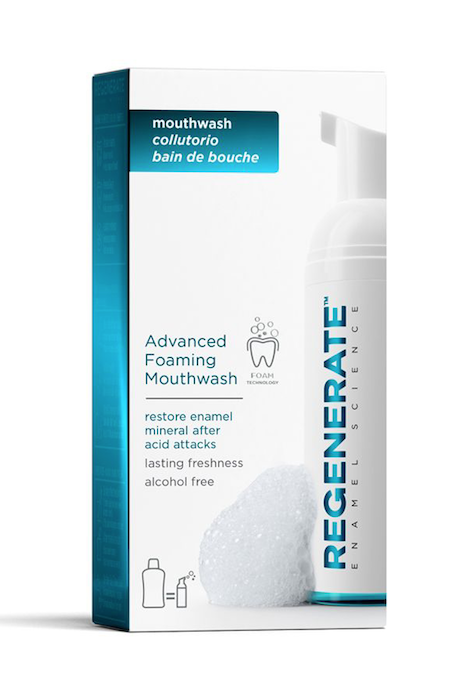 Regenerate Advanced Foaming Mouthwash tried tested review