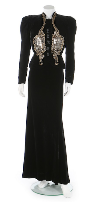must have vintage menswear Schiaparelli hall of mirrors dress