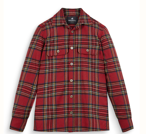 Menswear product of the week Grenfell tartan Royal Stewart overshirt shacket jacket
