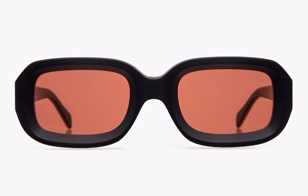 Hamburglar style icon Illesteva Vinyl sunglasses orange lenses