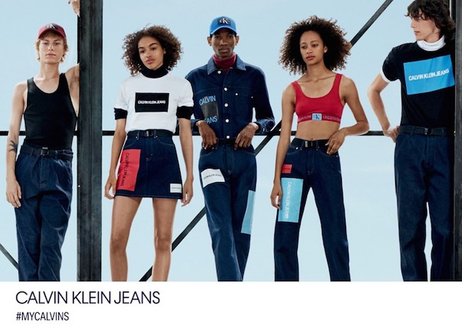 How to wear denim Calvin Klein jeans
