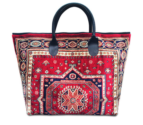 Accessory trend carpet bags