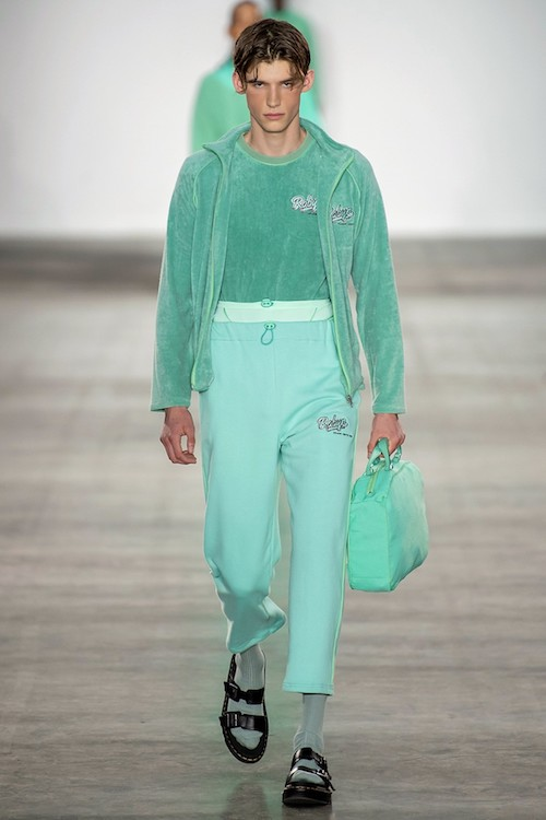 mint green menswear trends SS20 Robyn Lynch