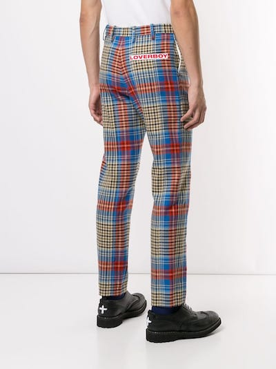 fashion menswear product of the week Charles Jeffrey Loverboy Tartan trousers