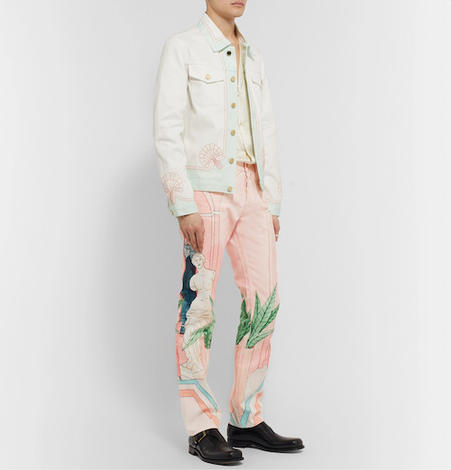 menswear product of the week casablanca printed jean