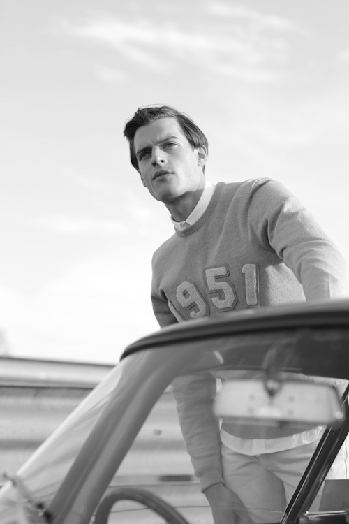 Gloverall 1951 grey sweatshirt