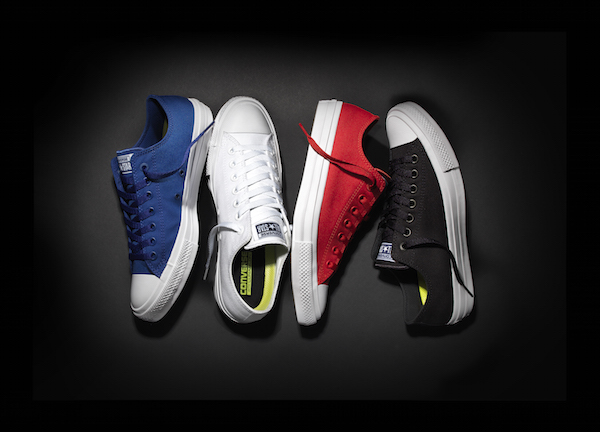 colour ways of Chuck Taylor All Star II converse sneakers