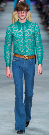 gucci lace menswear s16 the chic geek