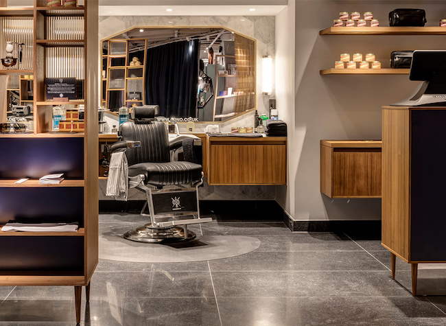 Good value barbershop AONO Harvey Nichols