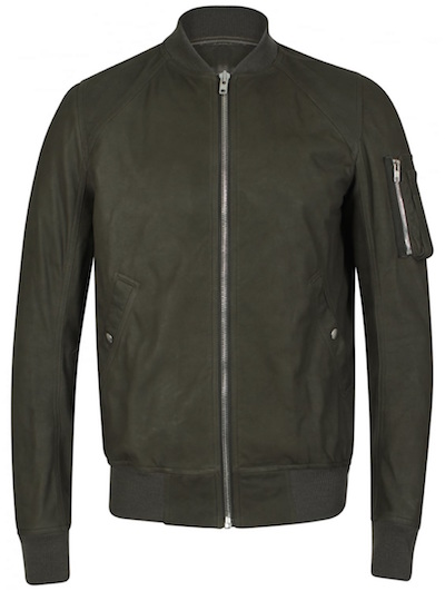 rick owens bomber jacket hervia  buyer's guide