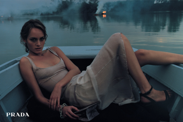 amber valletta 1997 prada glen luchford