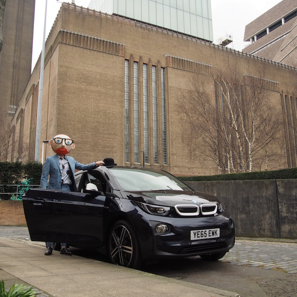 the chic geek ootd bmw i3 electric car mr porter