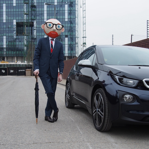 bmw i3 electric car the chic geek style