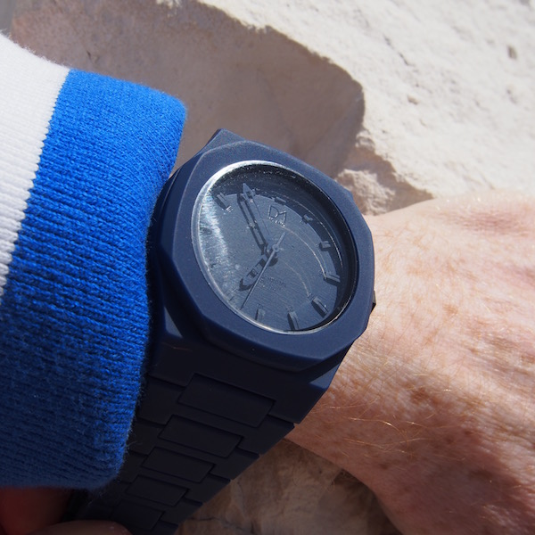 Watch D1 Milano blue the chic geek
