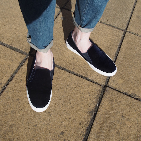 velvet sneakers trainers Russell & Bromley