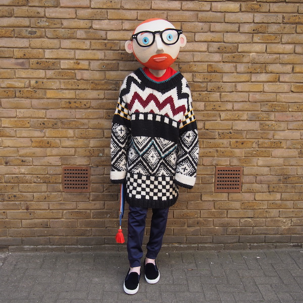 Style icon The Chic Geek jumper