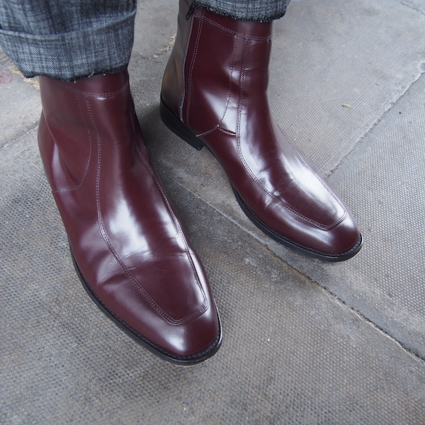 CMMN SWDN Chelsea Boots Red Oxblood