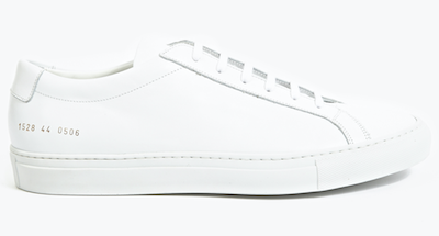White trainers sneakers Common Projects