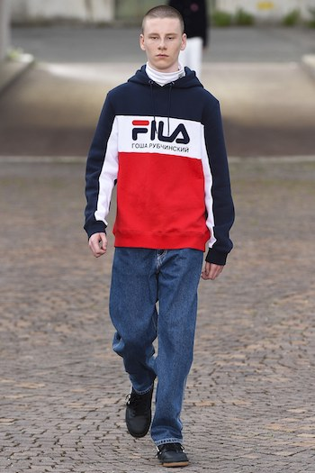 Best new menswear label Gosha Rubinchinskiy