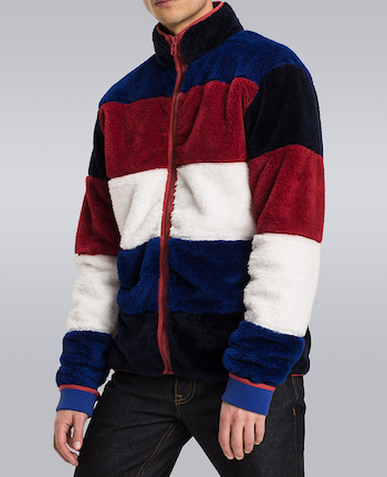 Borg Fleece is the menswear material of the season The Chic Geek