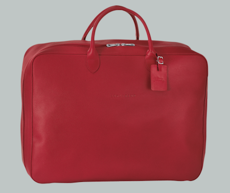 menswear Christmas wish list Longchamp leather suitcase