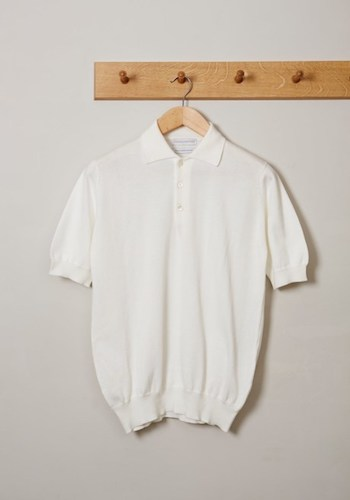 knitted polo shirt william lockie for Trouva