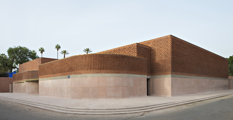 Visit the Yves Saint Laurent YSL Musuem in Marrakech with The Chic Geek exterior picture