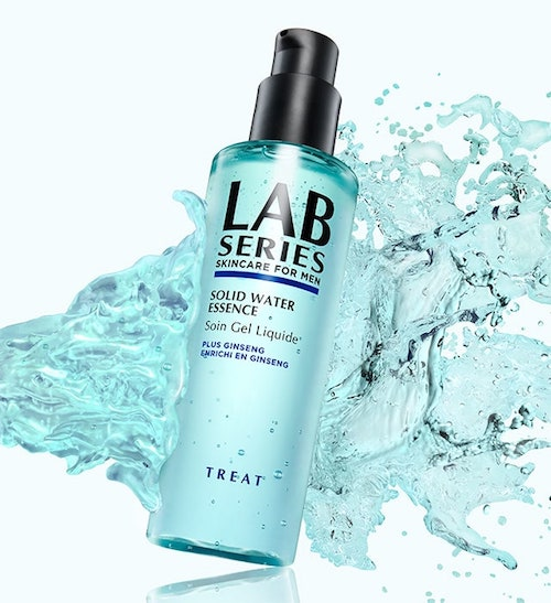 Review Lab Series Solid Liquid Essence moisturiser treat The Chic Geek grooming expert
