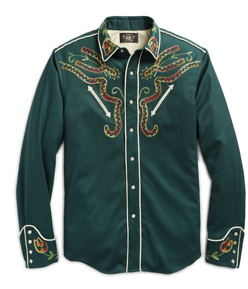 RRL Ralph Lauren western shirt The Chic Geek menswear top picks