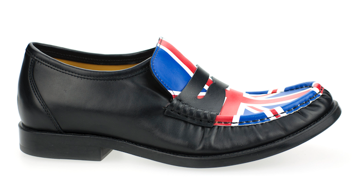 Patrick Cox Lathbridge Union Jack Loafer