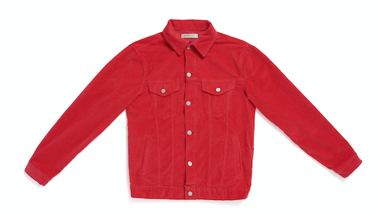 The Cords & Co Swedish Corduory company red jacket