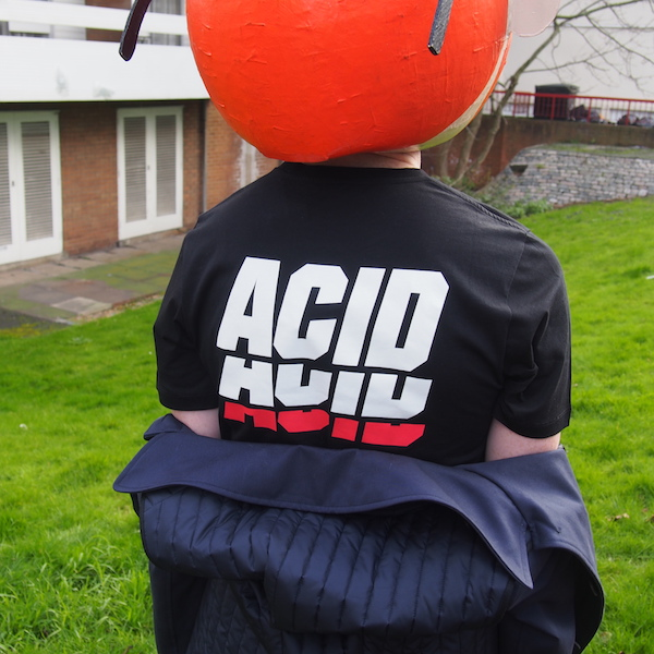 Acid rocker T-shirt Tim Coppens menswear style