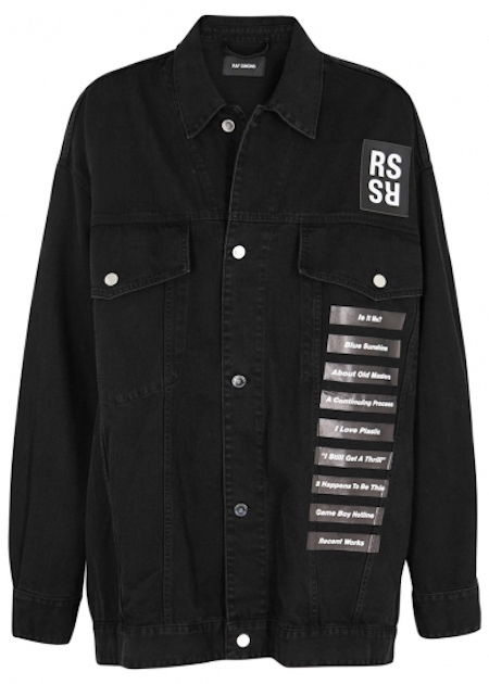 Raf Simons New Order Jacket Harvey Nichols Menswear