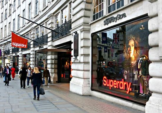 Superdry strategy bored brand Julian Dunkerton