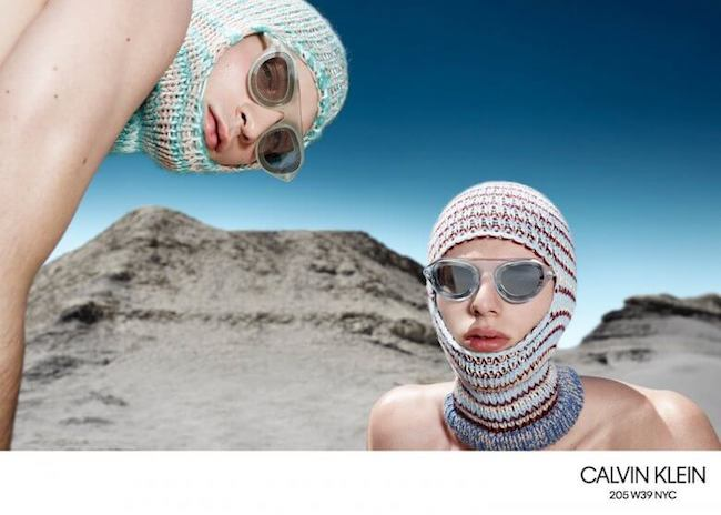 Men's fashion trends balaclava Calvin Klein