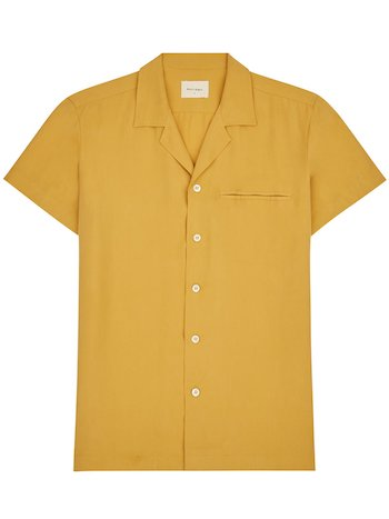 Top Camp Collar Shirts Basic Rights
