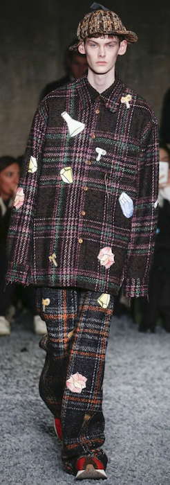 AW18 menswear trends Milan Marni coat
