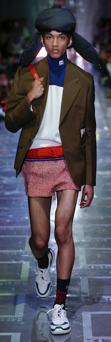 SS19 Trends Short Shorts Menswear Summer Roll Necks Prada