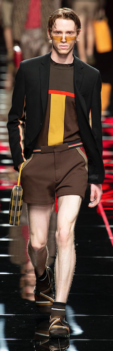 SS19 Trends Short Shorts Menswear Fendi