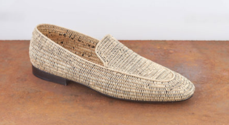 Raffia summer shoes Casablanca 1942