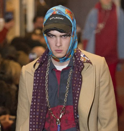 Accessory trend Male Headscarf Vetements AW18